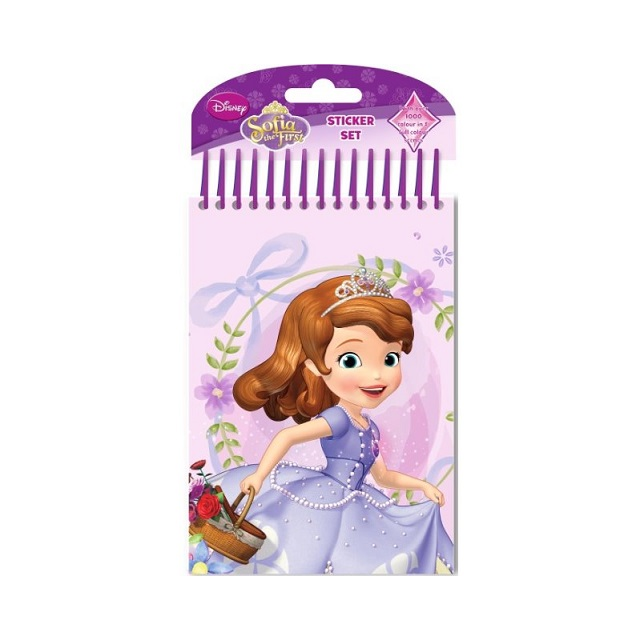 Sofia the First Colour Your Own Art Set with 1000 Stickers & Pens Party Bag Gift