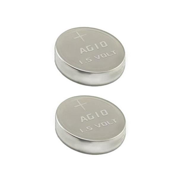 10 x Alkaline Button Cell AG10 Batteries 1.5V