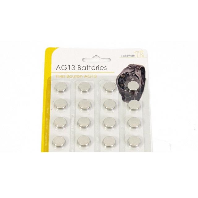 16 x AG13 LR44 Alkaline Button Cell Coin Batteries