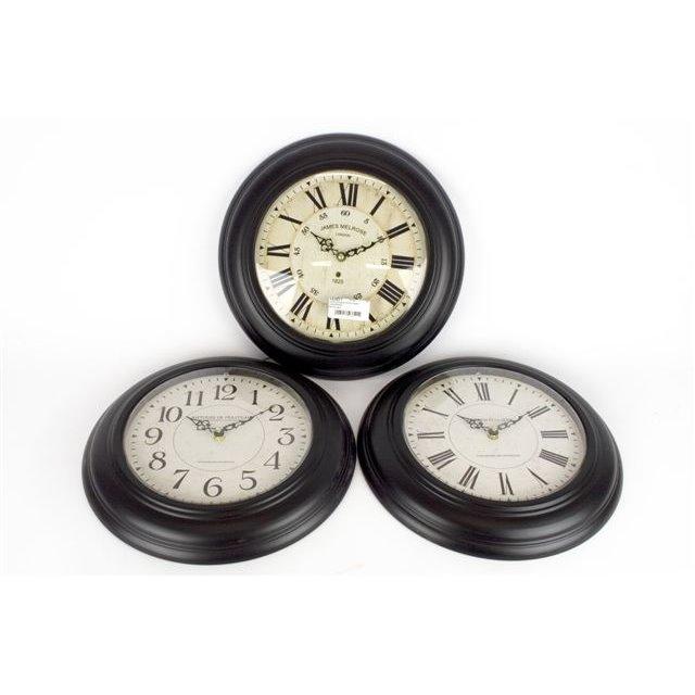 Black Iron Antique Style Clock Antoine De Praiteau James Melrose French Gallery