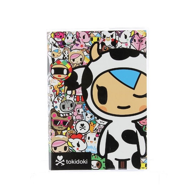 Tokidoki Premium A5 Notebook Lined College School Notepad Plastic Cover