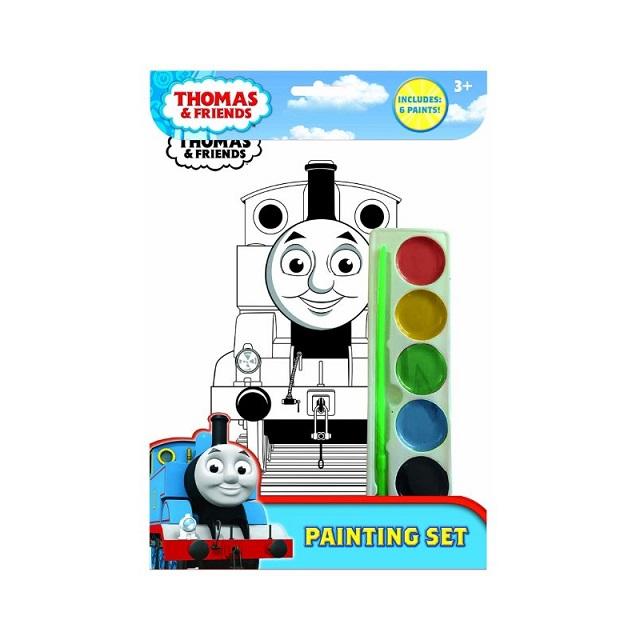 Thomas & Friends Painting Set Create Own Artwork