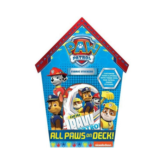 Paw Patrol Fabric Stickers Rescue Dogs Perfect Birthday Party Loot Bag Fillers