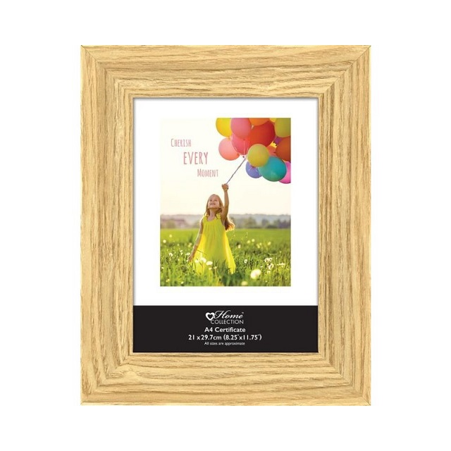 Oak Style Modern Contemporary Picture Photo Frame 4x6 5x7 10x8 A4 Certificate