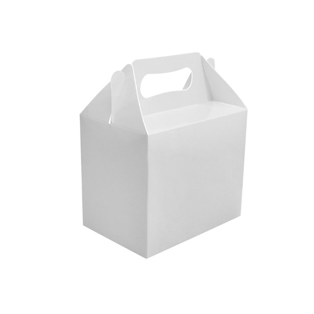 White Party Food Toy / Loot / Lunch Cardboard Boxes