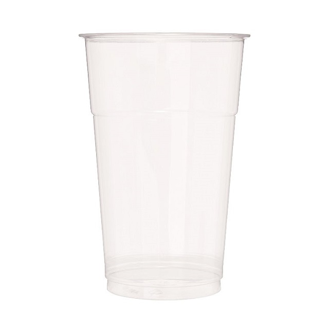 Bulk Party Pack Of 62 Clear Plastic Drinks Cups 300ml