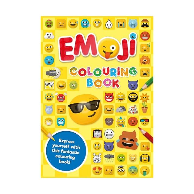 Super Fun Emoji Colouring Book Kids Creative Play Fun And Emotive