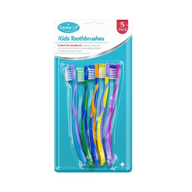5 x Kids Children's Pack of 5 Toothbrush Tooth Brush Oral Dental Care