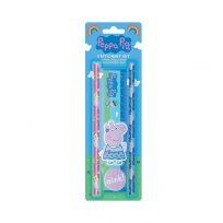 Peppa Pig 5 x Piece Stationery Set School Set Kids Party Bag Filler Ruler Pencils etc