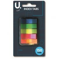 Pack of 150 Index Tabs Sticky Post Adhesive Highlighter Flags Page Marker It