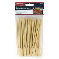 Bamboo Skewers 50 Pack 15cm For BBQ Grill Kebabs Koftas Satay