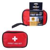 45 Piece Travel First Aid Kit Emergency Home Camping Bag Bike Car Work Holiday