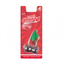 2 x Sweet Cherry Perfume Gel Car Air Fresheners 3D Hanging Eliminates Odours