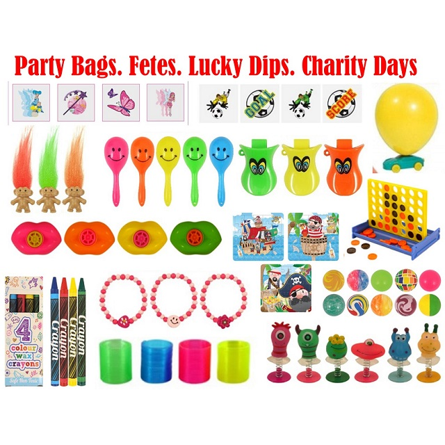 Bulk Buy Party Bag Toys - Fetes Charity Days Lucky Dips