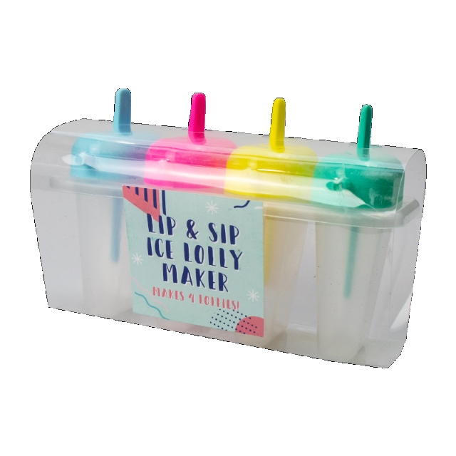 Lip And Sip Ice Lolly Maker - 4 Lollies