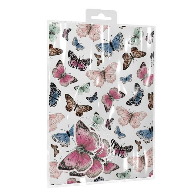 Beautiful Butterflies Gift Wrap & Tags Set