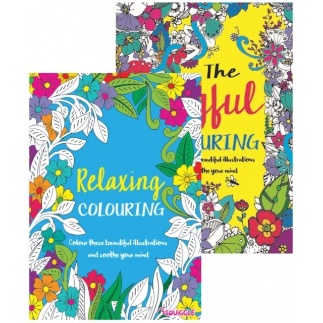 A4 Adult Advanced Colouring Book