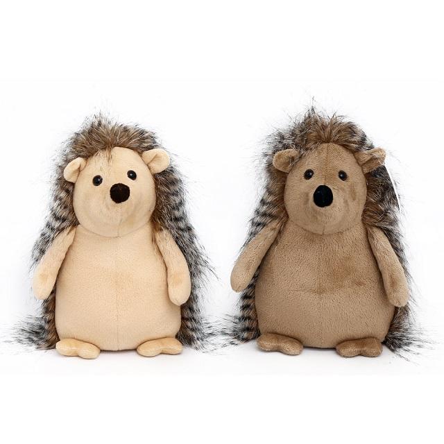Super Cute Fluffy Hedgehog Doorstop