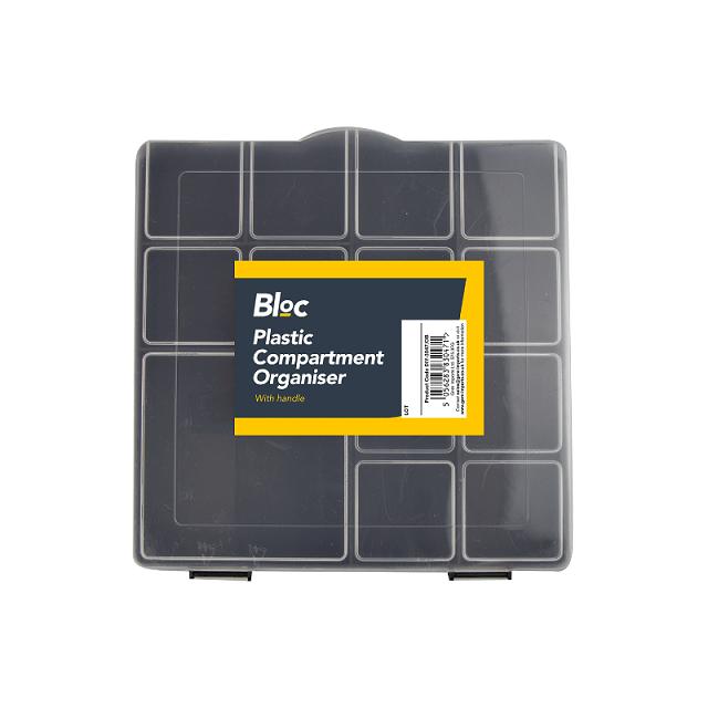 DIY 13 Compartment Parts Storage Organiser Cabinet Screws Carry Case Tool Box