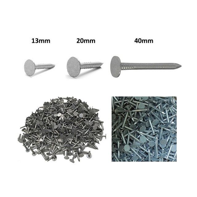 Galvanised Roofing Clout Nails - 3 Sizes Various Quantities