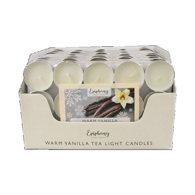 15 Pack Beautifully Scented Apple & Cinnamon Tealight Candles