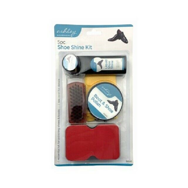 5pcs Shoe Shine Care Kit