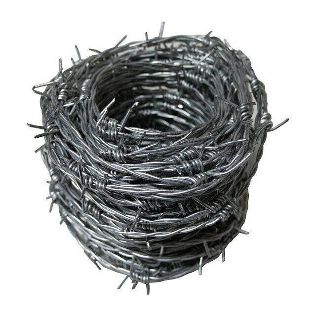30m x 1.7mm Galvanized Barbed Wire in Carry Tub